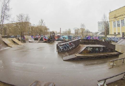 В Смоленске через полгода откроют отремонтированный скейт-парк