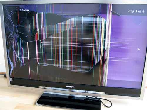 сколько стоит починить матрицу на телевизоре вами список