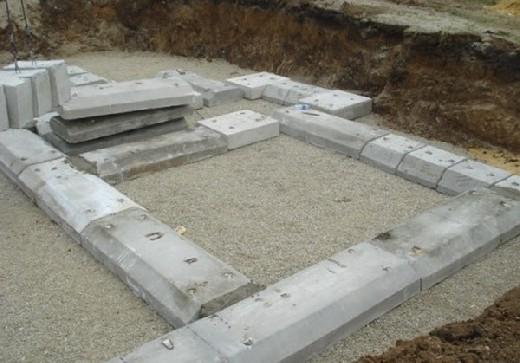 режемрежем лучок фундамент из блоков 20х20х40 утро